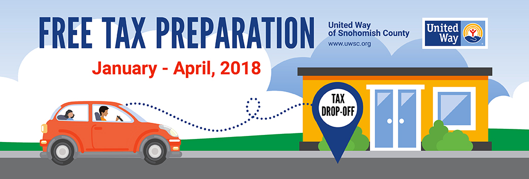 United Way of Snohomish County's Free Tax Preparation Campaign