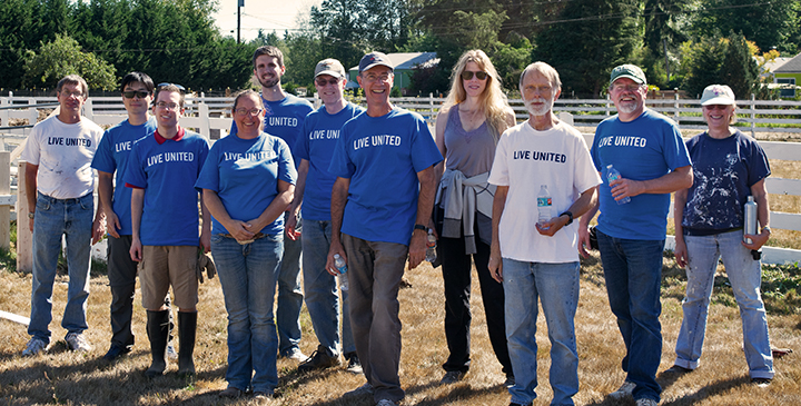 United Way of Snohomish County: Day of Caring Volunteers from Keysight Technologies